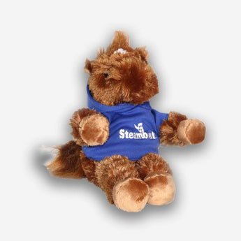 Horse with Official Steamboat Logo Hoodie