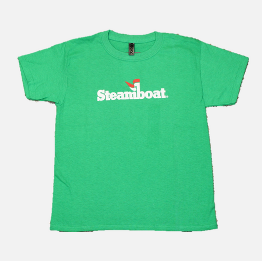 Youth Official Steamboat Logo Tee