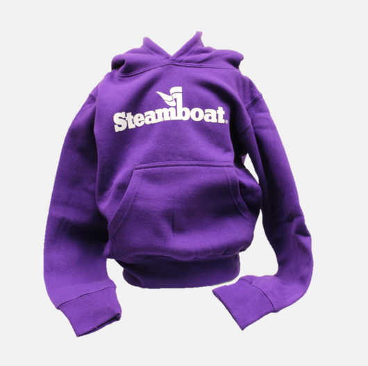 Youth Official Steamboat Logo Hoodie