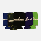 Official Steamboat Logo Can Koozies- 5 color options