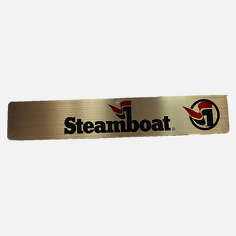 Steamboat Logo Wall Sign