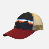 Navy Mountain Hat