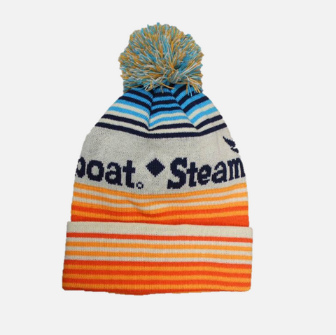 Youth Steamboat Stripe Beanie