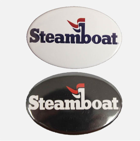 Official Steamboat Logo Magnet - 2 color options