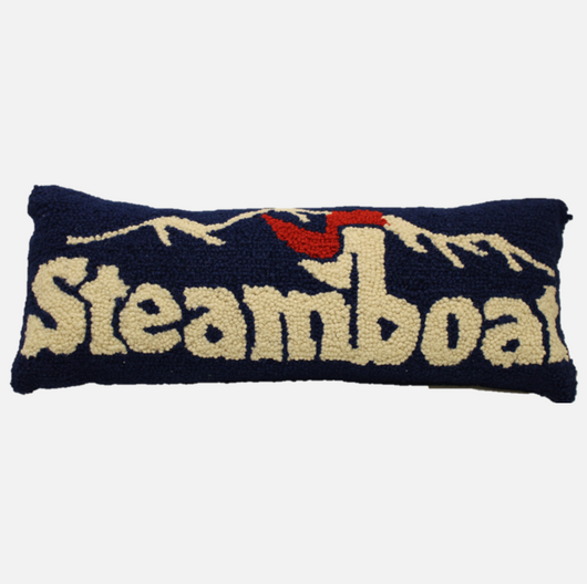 Hand-Stitched Steamboat Pillow