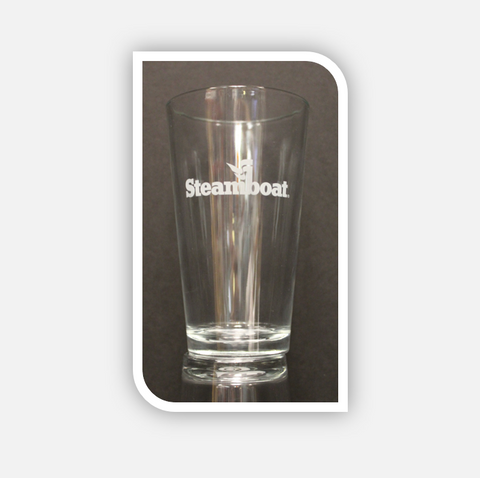 Steamboat Pint Glass