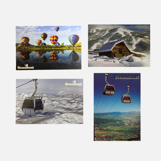 Steamboat Postcards - 6 styles