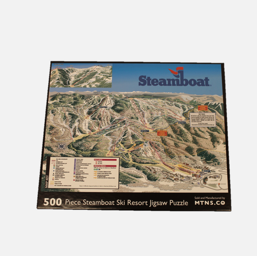 Steamboat Trail Map Puzzle