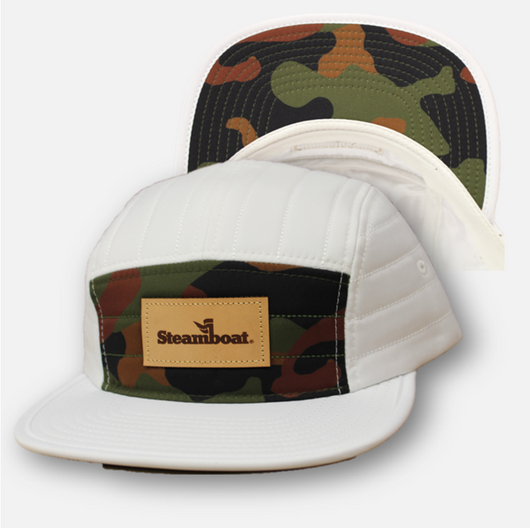 Quilted Camo Hat