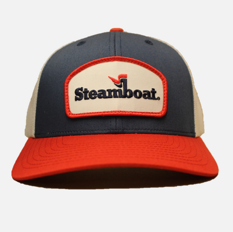 Steamboat Logoed C12 Trucker Hat