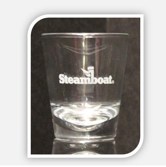 Steamboat Shot Glass