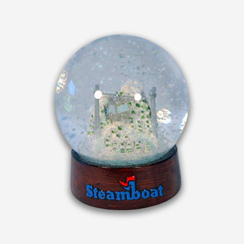 Steamboat Snow Globe
