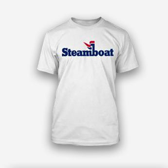Official Steamboat Logo S/S Tee