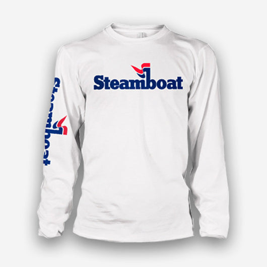 Official Steamboat Logo L/S Tee