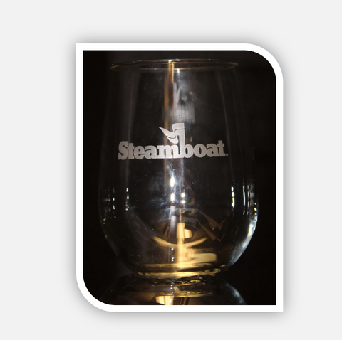 Steamboat White Wine Glass