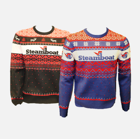 Ugly Steamboat Sweater - 2 color options
