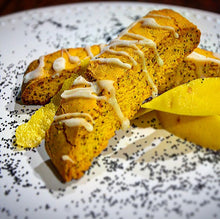 Load image into Gallery viewer, Lemon Poppy Biscotti