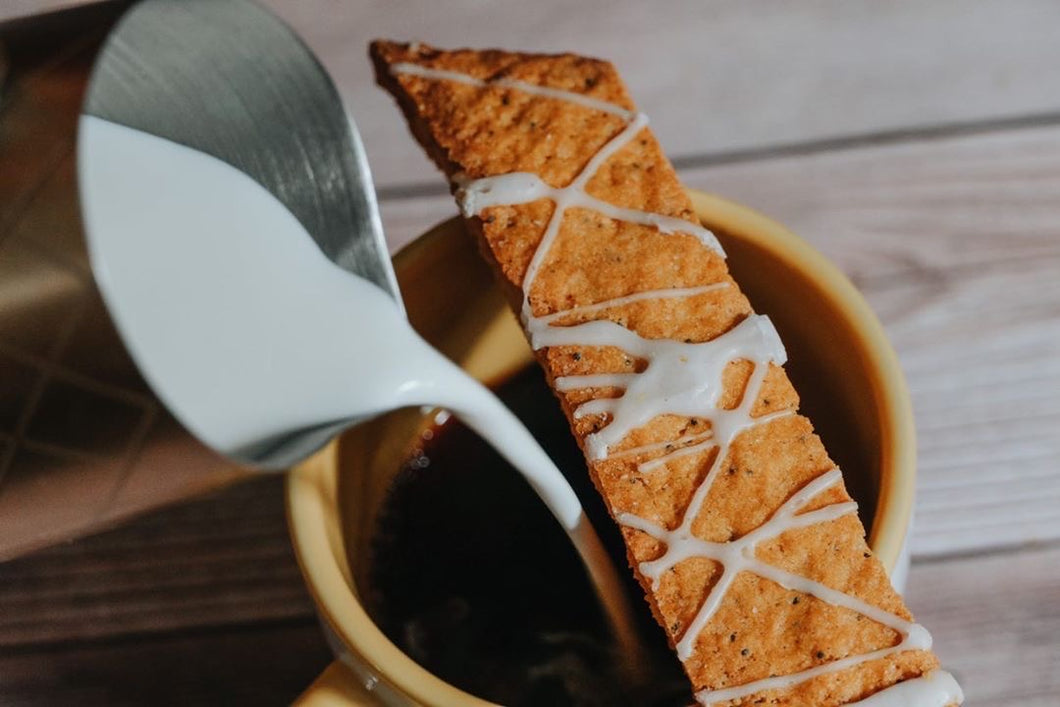 Lemon Poppy Biscotti