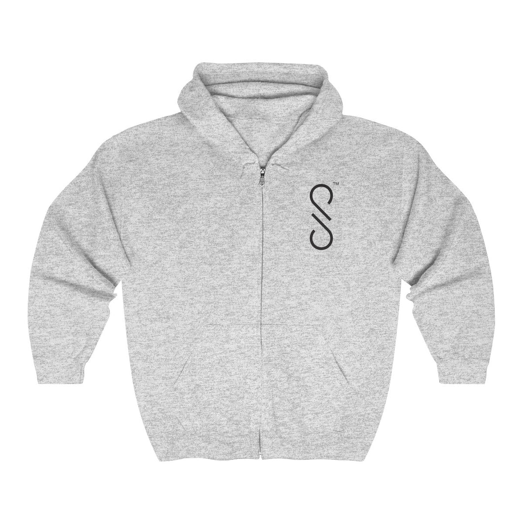 Shy Porter Unisex Heavy Blend™ Full Zip Hooded Sweatshirt