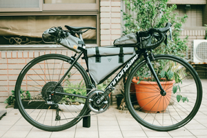 XTOURING Top Tube Bag Iron Grey