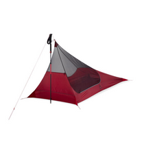 Load image into Gallery viewer, MSR® Thru-Hiker Mesh House 1 Trekking Pole Shelter