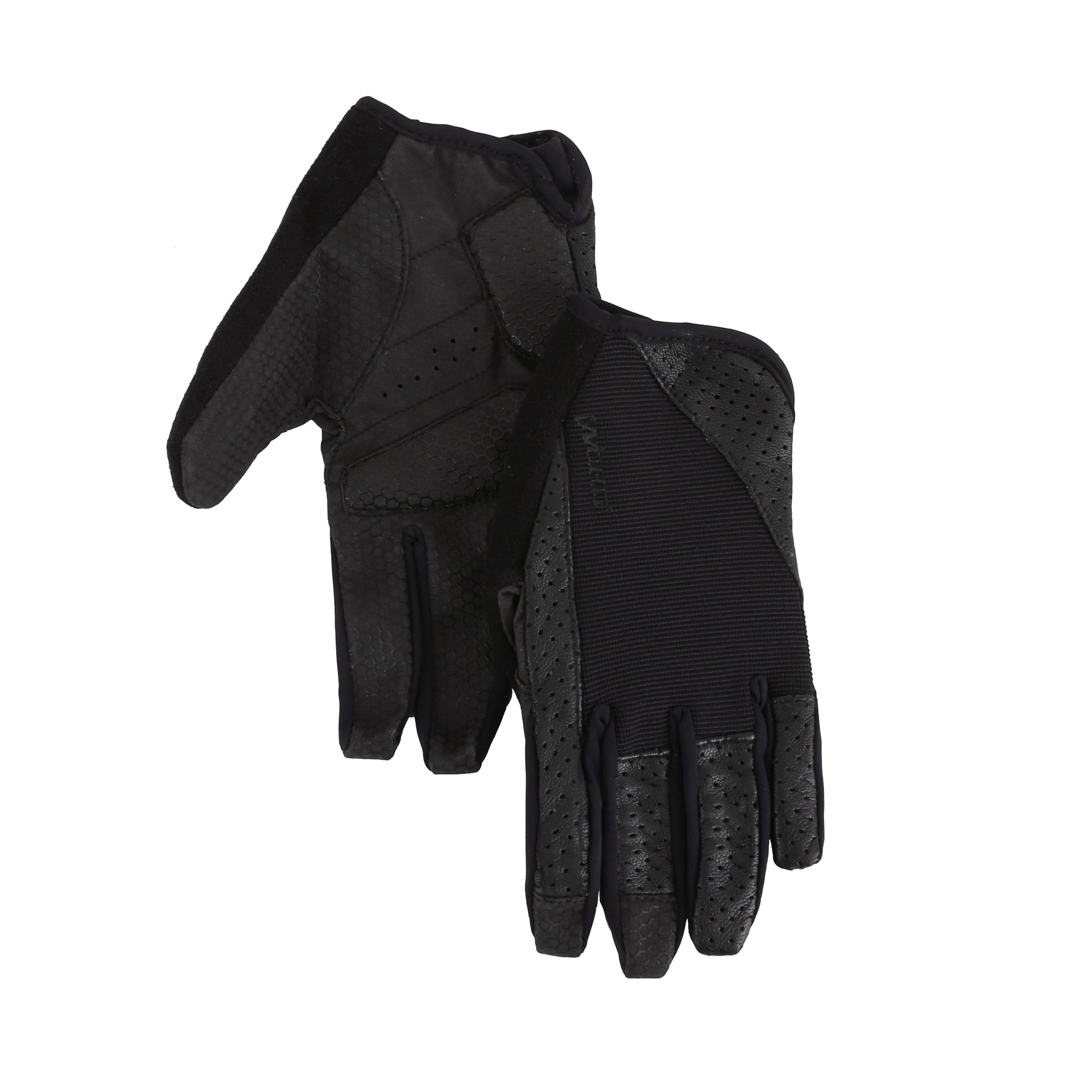 Club Racer leather long finger gloves