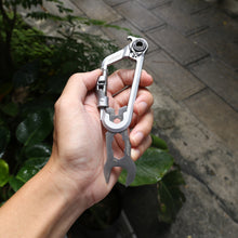 Load image into Gallery viewer, WOKIT™2.0 BIKEPACKING KIT Carabiner Multi-Tool With Sockets Set