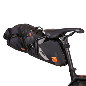 XTOURING Saddle Bag DRY M cyber-camo Diamond black