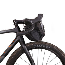Load image into Gallery viewer, Pre Order XTOURING Handlebar Harness Black + DRY Bag Cyber-Camo Diamond Black Bundle