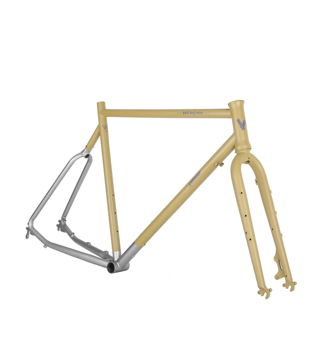 WOHO Wildcard Gravel Tourer Matt Moss / Ready Made Frameset / Sample / 60cm