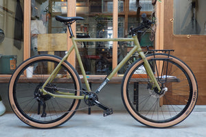 WOHO Wildcard Gravel Tourer Matt Moss / Complete Bike