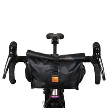 Load image into Gallery viewer, XTOURING Add-on handlebar pack DRY Cyber-Camo Diamond Black