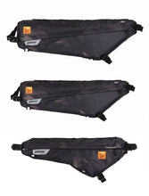 Load image into Gallery viewer, XTOURING Frame Bag Cyber-Camo Diamond Black 3 Sizes