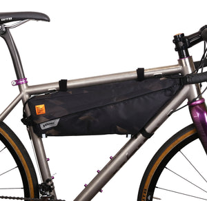 XTOURING Frame Bag + Almighty Cup Bundle cyber-camo Diamond black