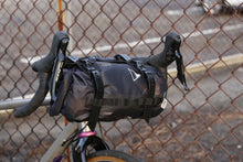 Load image into Gallery viewer, XTOURING Handlebar Harness Black + DRY Bag Cyber-Camo Diamond Black Bundle