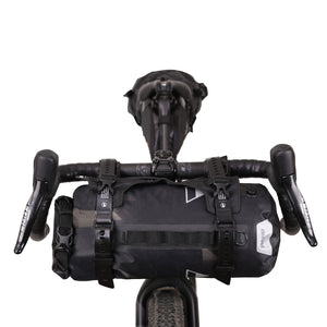 XTOURING Handlebar Harness Black + DRY Bag Cyber-Camo Diamond Black Bundle
