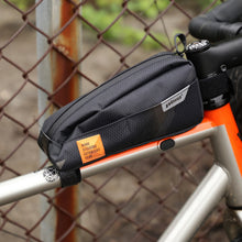 Load image into Gallery viewer, XTOURING Top Tube Bag cyber-camo Diamond black USA Free Shipping