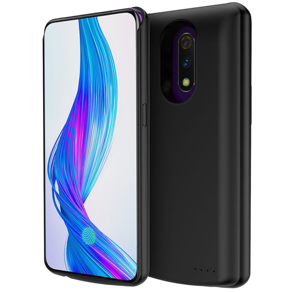 competitive price 247ca a18af Oppo Realme X Battery Case Extended Charging Case Portable Charger 6500Ah