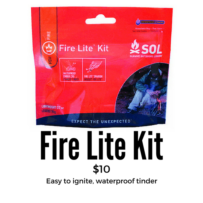 Adventure Medical SOL Series Fire Lite Kit