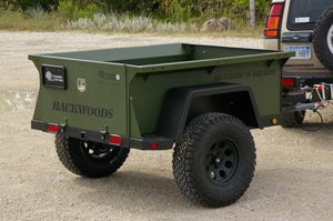 "Rugged 'N Ready 72"" Backwoods Trailer"