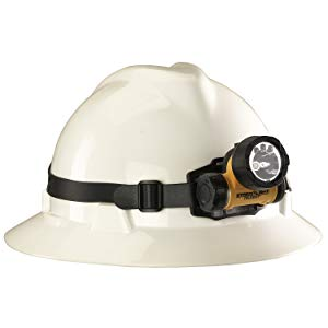 Streamlight Trident Super-Bright LED Multi-Purpose Headlamp, Yellow - 80 Lumens
