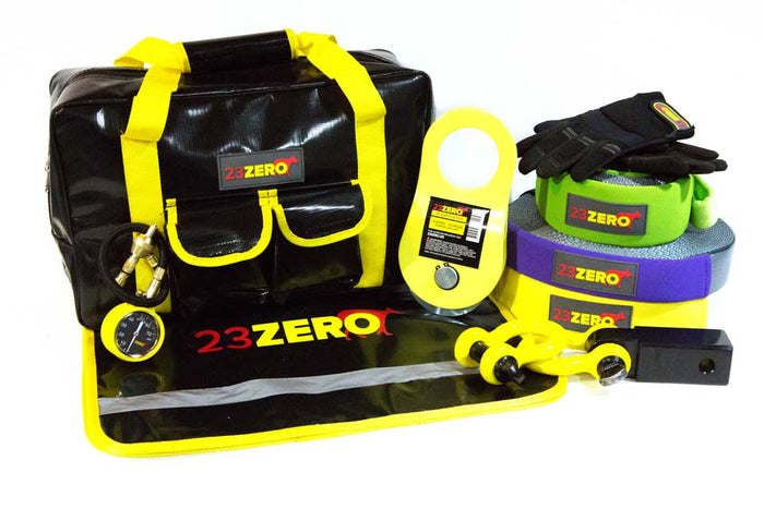 4X4 WINCH & SNATCH RECOVERY KIT