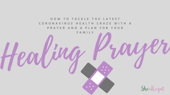 A prayer for health and healing as we embrace the coronavirus craze