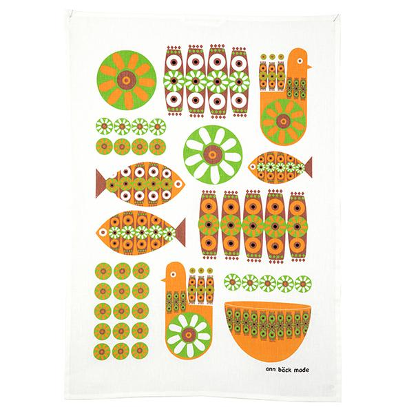 down the memory lane, kitchen towel