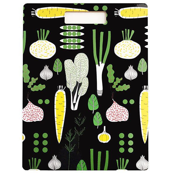 eat your greens cutting board, 40x30 cm