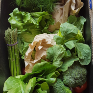 2. Vegetable box - just vegetables nothing else