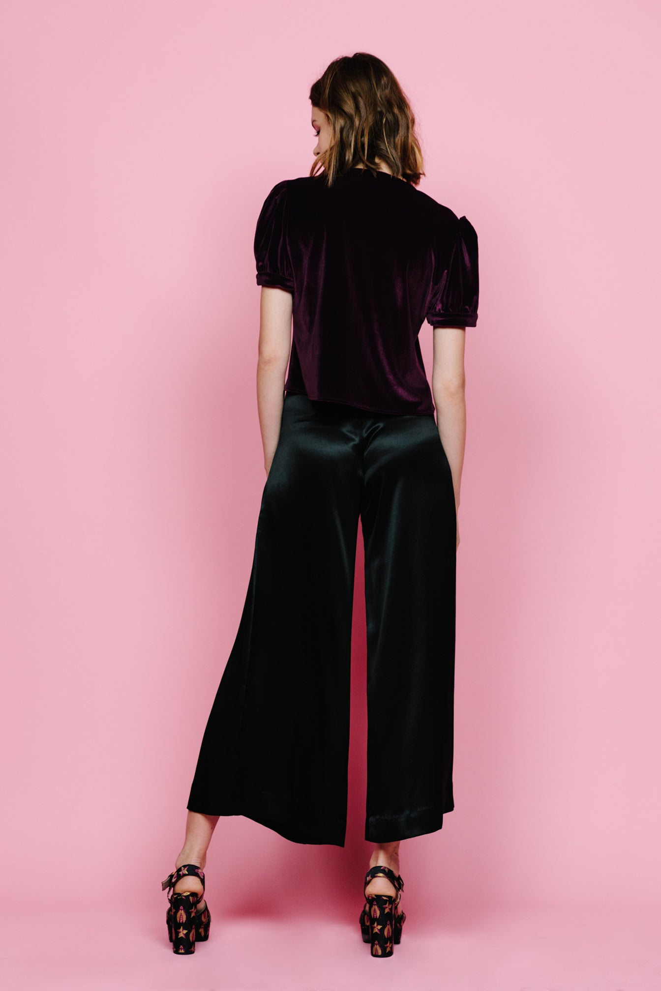 The Mary Jane Blouse (Velvet)