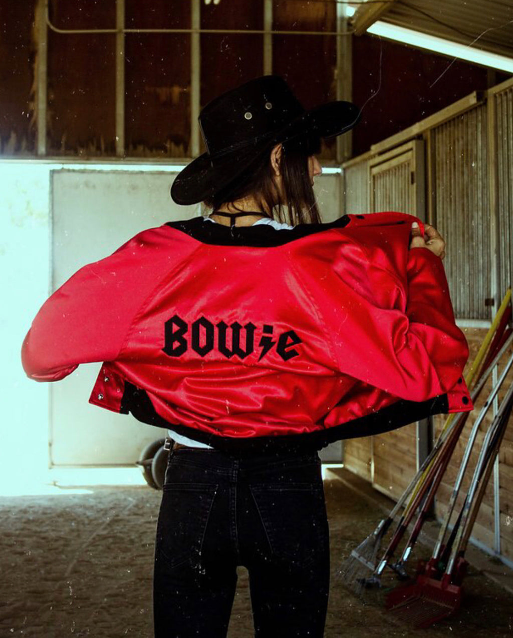 The Bowie Bomber (Red)