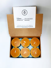 "Load image into Gallery viewer, 2"" Sandalwood Mini Votive Pillar Candles"