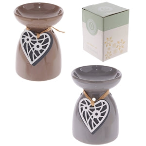 Ceramic Hanging Heart Burner 11cm